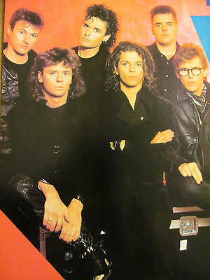 INXS, Michael Hutchence, Full Page Vintage Pinup, David Bowie