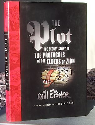 Will Eisner THE PLOT The Secret Story of the Protocols of the Elders of Zion 1st