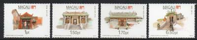 MACAO MNH 1992 SG784-87 Temples (1st series)