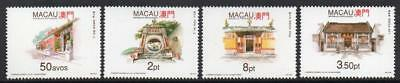 MACAO MNH 1993 SG792-95 Temples (2nd series)