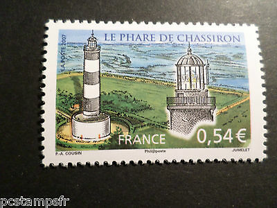 FRANCE, 2007, timbre 4117, PHARE DE CHASSIRON, LIGHTHOUSE, neuf** MNH STAMP