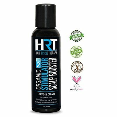 Chemical Free Hair Regrowth Scalp Stimulator Leave in Cream Stops Hair Loss 2 Oz