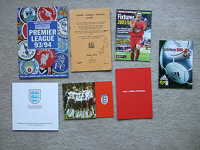 fixture booklet uefa euro 2000 by adidas in asian language inc england