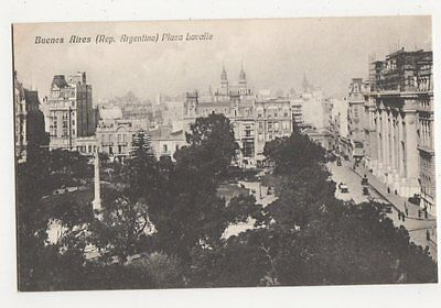 Argentina, Buenos Aires, Plaza Lavelle Postcard, B208