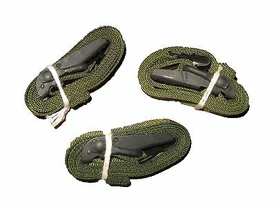 "LOT OF 3 US Military ALICE CARGO AUTOMOBILE STRAP Pack Lashing Metal OD 52"" NEW"