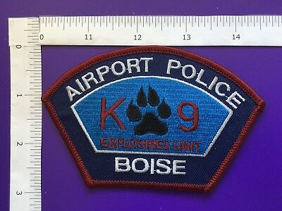 Boise Idaho Airport Police  K-9 Shoulder Patch