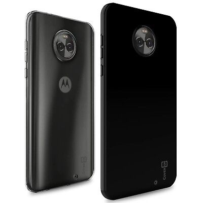 CoverON for Motorola Moto X4 (X 4th Gen) Case Slim TPU Thin Soft Phone Cover