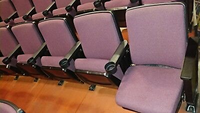 Hundreds of Theater Auditorium Movie Seats Chairs Seating Sports Movie Game Play