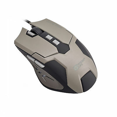 Gaming Mouse USB Wired 8 Buttons Backlight 704 IC Customized with CD PRO Mice