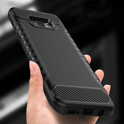 For Samsung Galaxy S8 / Plus Case Shockproof Armor Hybrid Protective Phone Cover