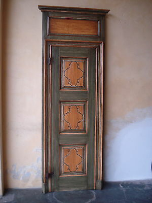 porta antica laccata epoca 1700 old lacquered door