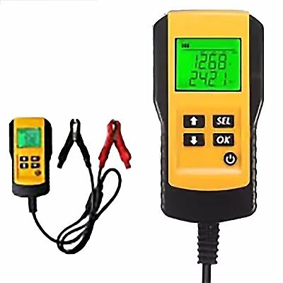 Lead acid battery analyser load tester for 12 volt health performance life