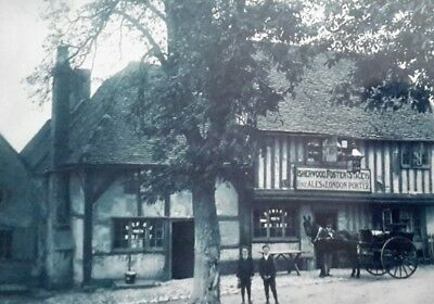 "The Bull Pub, Lower Road, East Farleigh, Maidstone Kent 7X5"" Reproduced Print"
