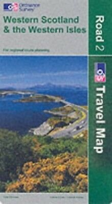 Western Scotland and the Western Isles -... by Ordnance Survey Sheet map, folded