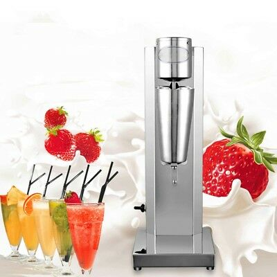 110/220V Stainless Steel Single Head Milk Shake machine Electric Bubble Mixer