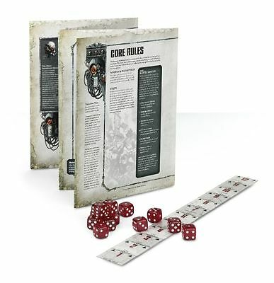 Warhammer 40k 8th Edition Core Rulebook, 12 six sided Dice and Range Ruler