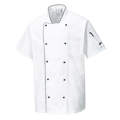 Portwest C676 Aerated Chefs Jacket | Kitchen Catering Uniform