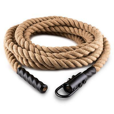 Capital Sports Power Rope Resistente Agarre Gancho Techo Fitness Largo 6 Metro