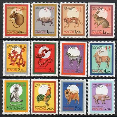 MACAO MNH 1984-95 Chinese New Year