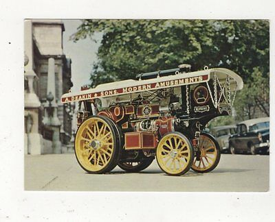 Fowler Traction Engine Model Postcard 647a