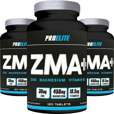 120 X Hardcore Zma Testosterone Booster Tablets Night Recovery