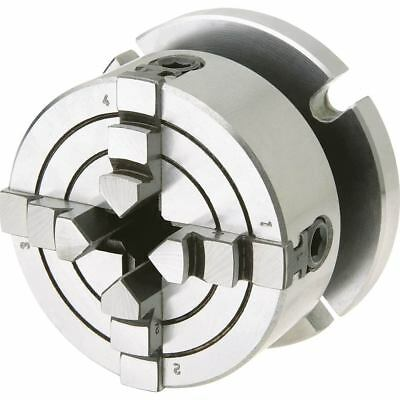 Shop Fox Small 4-Jaw Chuck With Plate D3754 Power Tool Accessories