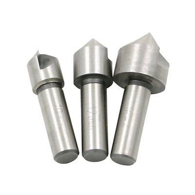 HSS COUNTERSINK SET 10, 12 and 16mm DRILL BITS FOR STEEL AND HARD METAL