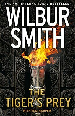 The Tiger's Prey by Smith, Wilbur Book The Cheap Fast Free Post