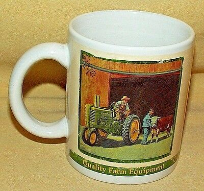 John Deere Mug Cup 2005 Collectors Series Tractor Farm Equipment 31051 Coffee