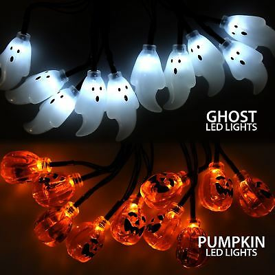 10 Halloween LED String Lights Party Props Table Decoration Battery Operated