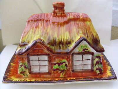 Cottage Butter or Cheese Dish