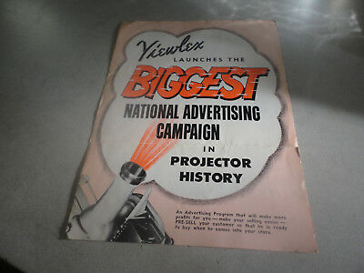 1955 Viewlex Biggest National Advertising Campaign in Projector History Ad