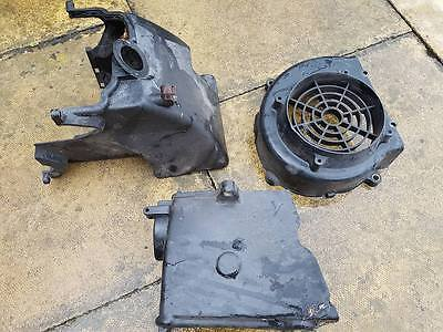 Sym Jet 4 125Cc 2012 Engine Cooling Covers