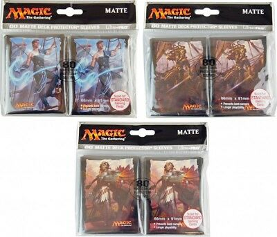 80 Ixalan Magic MtG Sleeves - Ultra Pro (66x91mm) Magic the Gathering Hüllen