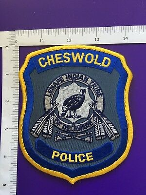 Cheswold Delaware  Police Shoulder Patch