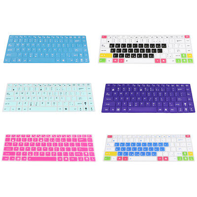 Silicone Keyboard Cover Skin for ASUS U80 Laptop Notebook Protector Rubber