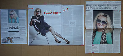 Annie Nightingale - clippings/cuttings/articles pack