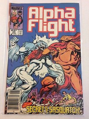 Alpha Flight #23 Comic Book Marvel 1985