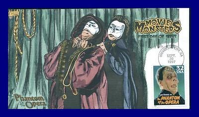 COLLINS HAND PAINTED 3168-72 Movie Monsters Set of 5