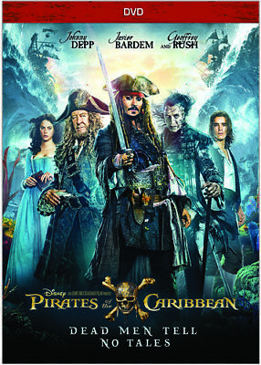 Pirates Of The Caribbean: Dead Men Tell No Tales [New DVD] Ac-3/Dolby Digital,