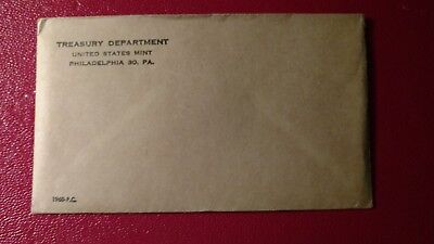 1960 US Silver Proof Coin Set - SEALED in Original U.S. Mint Envelope Unopened