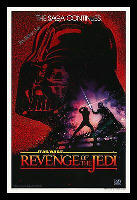 C-10 MINT/ROLLED Star Wars ☆ REVENGE OF THE JEDI ☆ No-DATE ☆ 27x41 MOVIE POSTER
