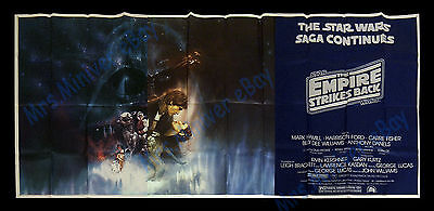 THE #1 RAREST Star Wars THE EMPIRE STRIKES BACK POSTER - MOVIE PREMIERE 8-SHEET!