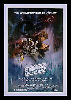 Star Wars ☆ THE EMPIRE STRIKES BACK ☆ 1980 N/M ROLLED NEVER-FOLDED MOVIE POSTER!
