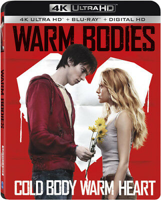 Warm Bodies [New 4K UHD Blu-ray] With Blu-Ray, Widescreen, 2 Pack, Ac-3/Dolby