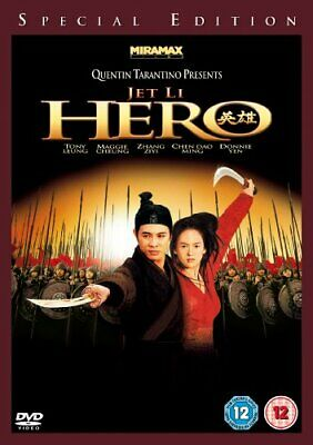 Hero [DVD] - DVD  LEVG The Cheap Fast Free Post