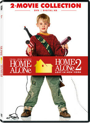 Home Alone 2-Movie Collection (2017, DVD NEUF) (RÉGION 1)