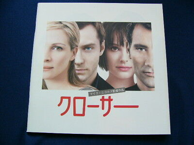 a63.2005 CLOSER Japan PROGRAM  Julia Roberts Jude Law Natalie Portman Clive Owen