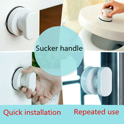 Bath Safety Handle Suction Cup Handrail Grab Bathroom Grip Tub Shower Bar OGH