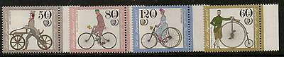 Germany Sg2092/5 1985 Youth Welfare Cycles  Mnh